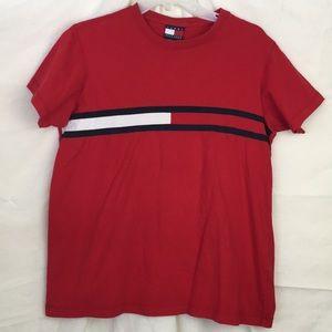 Tommy Hilfiger Vintage Logo TShirt Mens Large